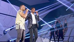"OT 2018 - Famous y Cesar Sampson cantan ""Nobody but you"" en la gala de Navidad"