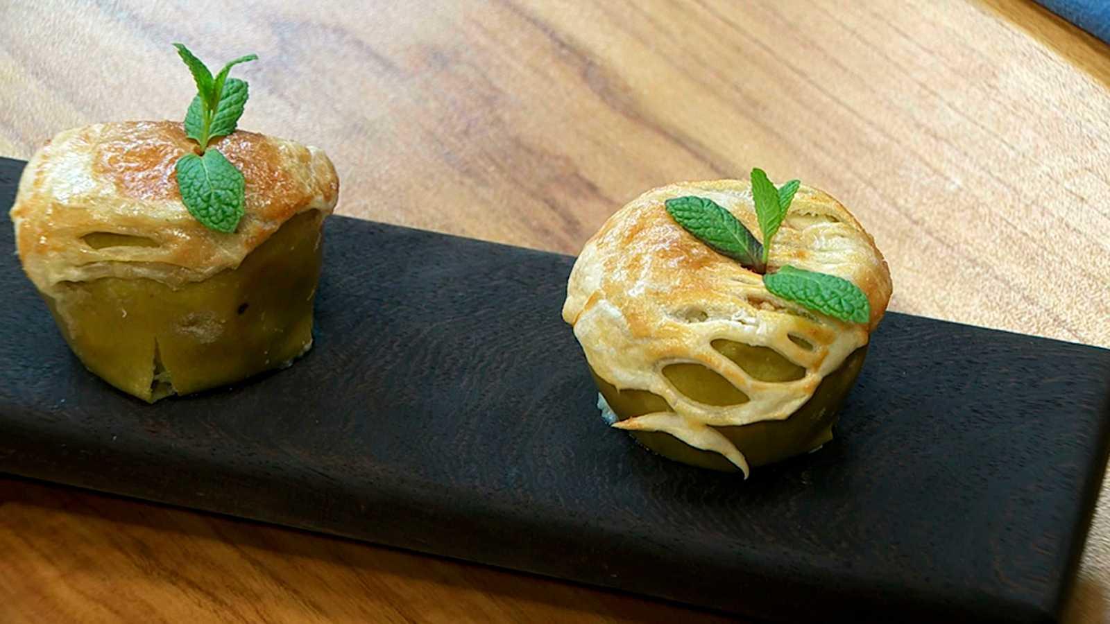 Torres en la cocina - Pastel de manzana