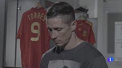 Fernando Torres se emociona recordando a Luis Aragonés