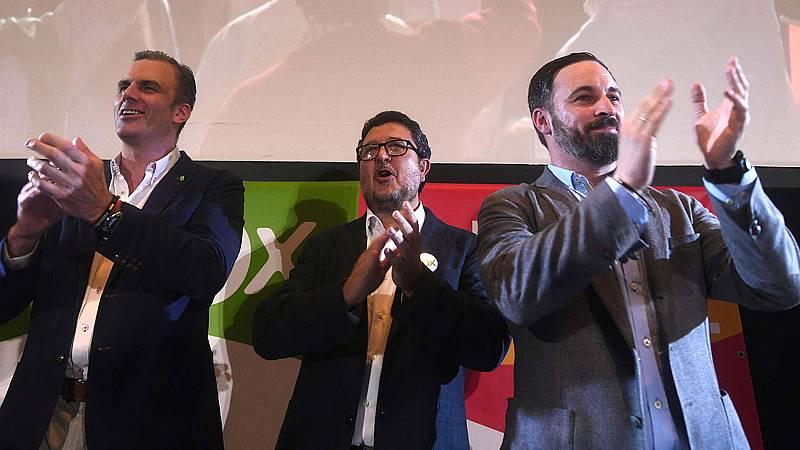 Vox reclama a PP y Cs negociar el acuerdo programático en Andalucía