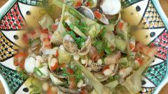 Torres en la cocina - Alcachofas guisadas con alubias