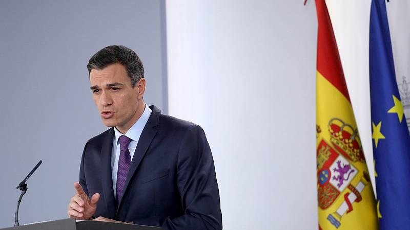 """Sánchez: """"Se pone fin al periodo de merma de poder adquisitivo de las pensiones"""" con su revalorización """"por encima del IPC"""""""