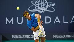 Tenis - Mubadala World Tennis Championships 1ª Semifinal