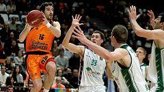Baloncesto - Eurocup Top 16 1º partido: Valencia Basket - Unicaja Málaga