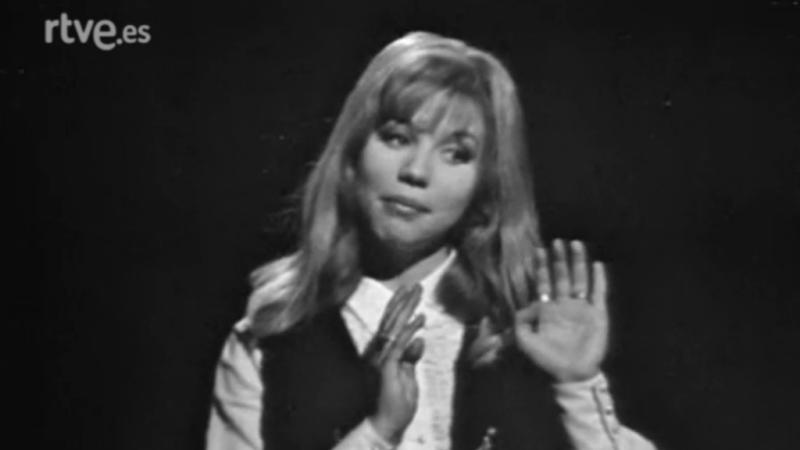 Tele - Ritmo - Karina canta 'Las flechas del amor' (1969)