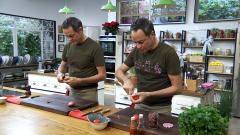 Torres en la cocina - Árbol Navidad de pizza y solomillo