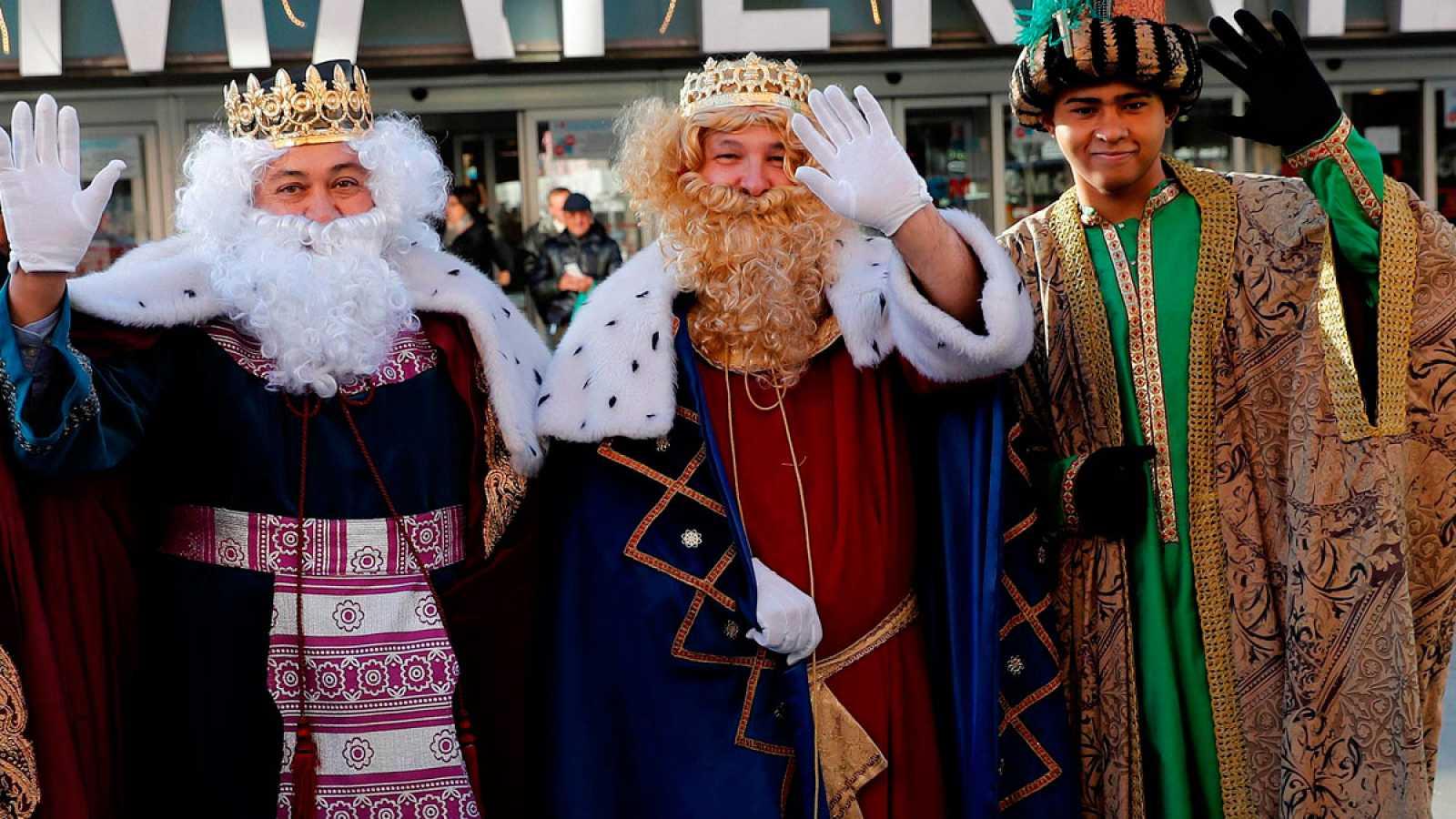 Los Reyes Magos han estado probando distintos medios de transporte