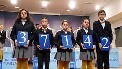 El 37.142, primer premio del Sorteo Extraordinario del Niño