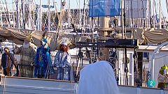 L'arribada dels Reis Mags al Port de Barcelona