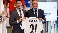 """Brahim, presentado con el Real Madrid: """"Es el día que soñé desde niño"""""""