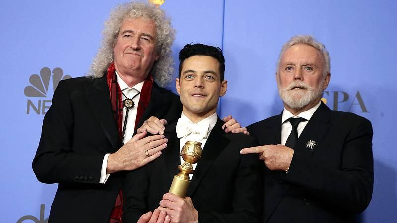 'Bohemian Rhapsody', 'Green Book' y 'Roma' se reparten la gloria en los Globos de Oro 2019