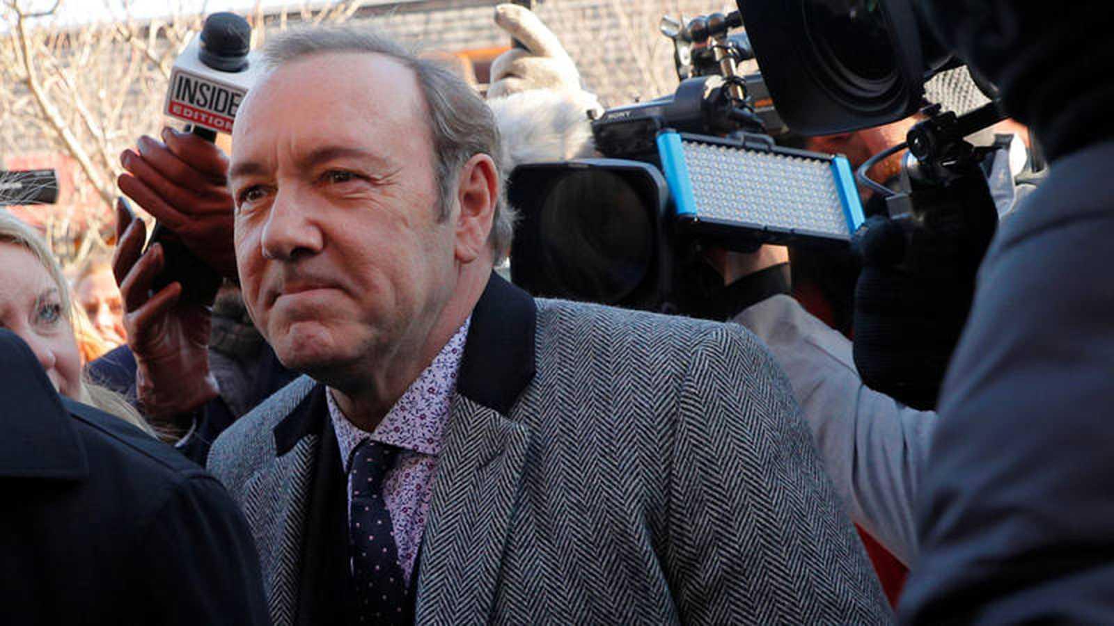 Arranca en EE.UU. la batalla judicial contra Kevin Spacey