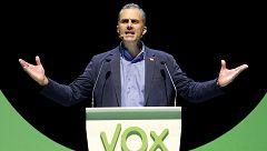 """Javier Ortega (Vox): """"El desprecio y ninguneo de Cs no es democrático ni aceptable"""""""