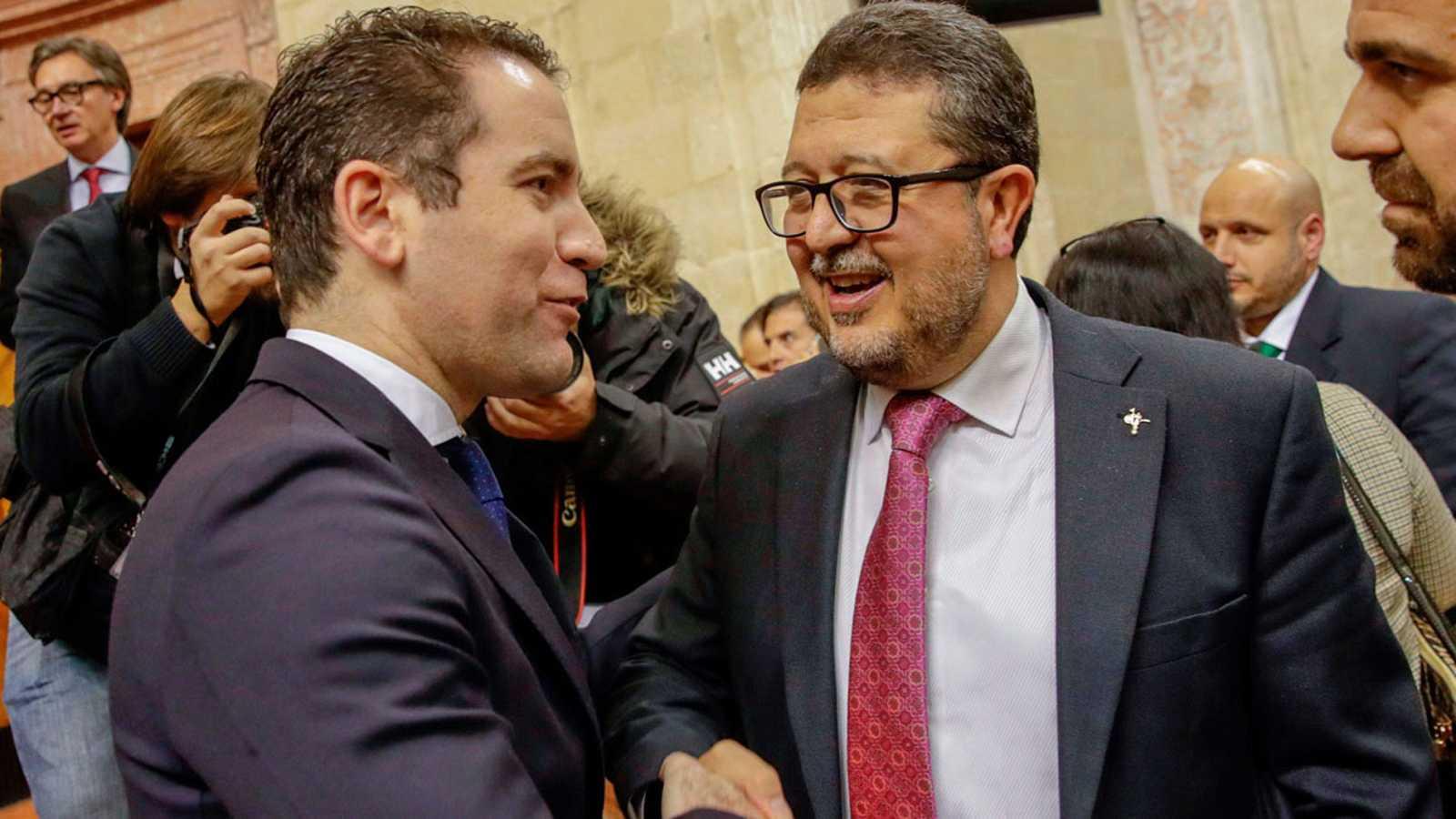 Derogar la Ley de violencia de género y expulsar a 52.000 inmigrantes ilegales, medidas de Vox para investir a Moreno