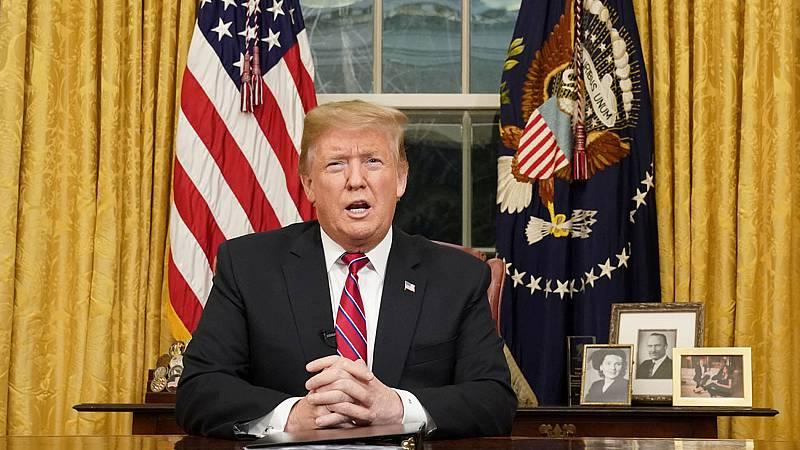 """Trump asegura que la situación en la frontera con México es una """"crisis creciente"""""""