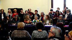 El movimiento feminista se moviliza contra VOX