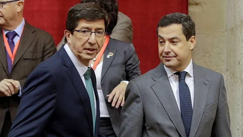 Los vetos entre partidos andaluces complica la investidura de un candidato y amaga con repetición de elecciones