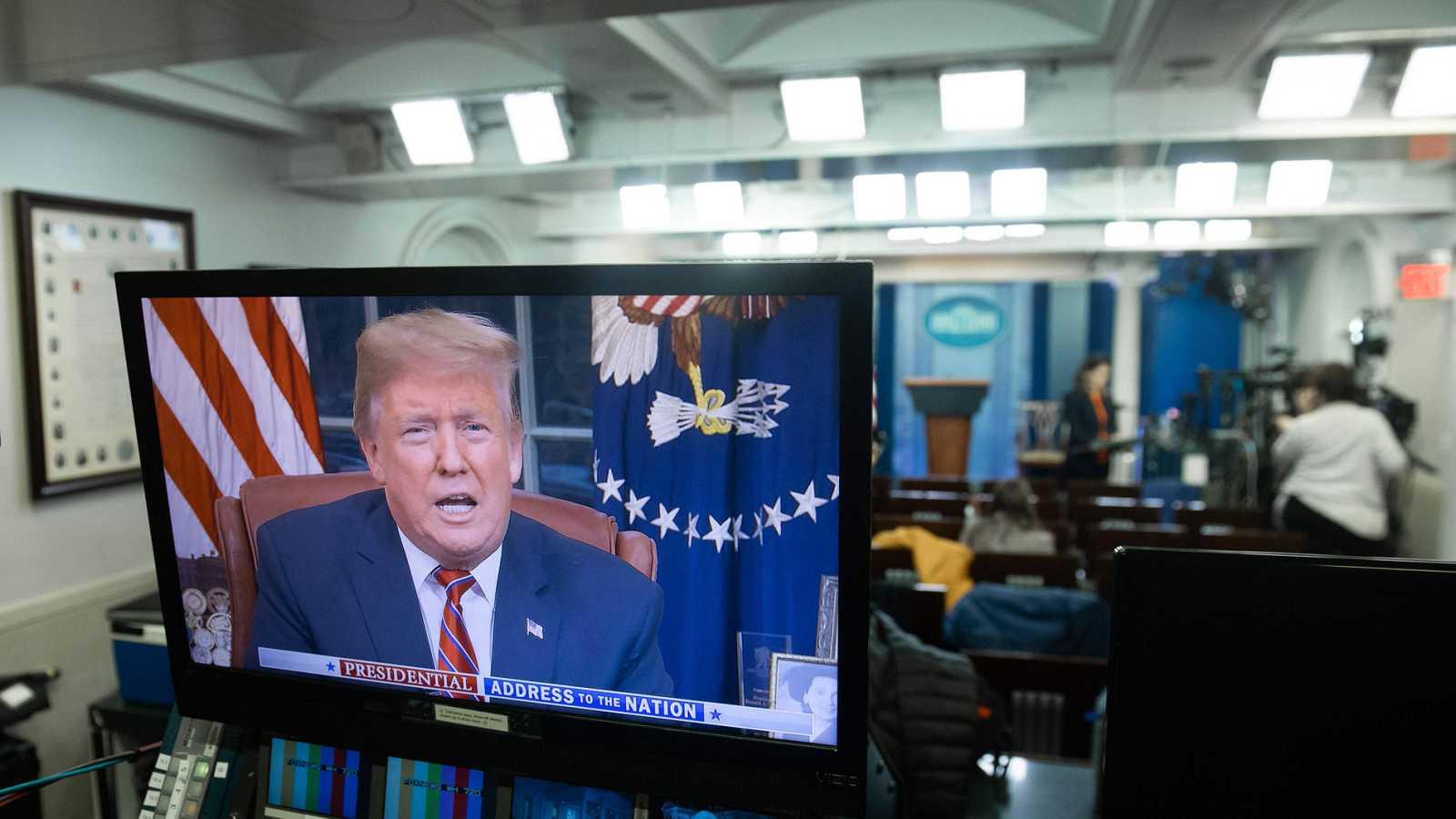 La prensa estadounidense cuestiona la existencia de una crisis en la frontera con México como dice Trump
