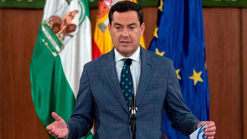 """Moreno Bonilla: """"Hemos acatado con dignidad el mandato que nos hicieron los andaluces el pasado 2 de diciembre"""""""