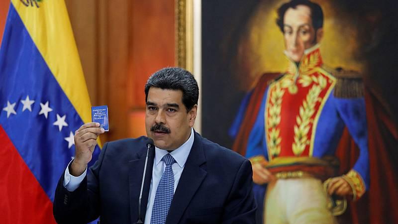 Maduro acusa de nuevo y en vísperas de su toma de posesión a EE.UU. y a la oposición de planificar un Golpe de Estado
