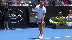 Tenis - ATP Auckland 1/4 Final: L. Mayer - T. Sandgren