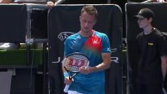 Tenis - ATP Auckland 1/4 Final: P. Kohlschreiber - F. Fognini
