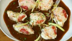 Torres en la cocina - Rape con salsa de cebolla