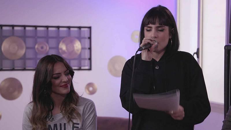 """Eurovisión 2019 - Natalia ensaya """"La clave"""""""