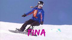 Mujer y deporte - FEDDF - Deporte de invierno: Astrid Fina