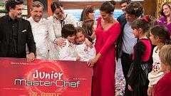 Josetxo gana la sexta edición de Masterchef Junior