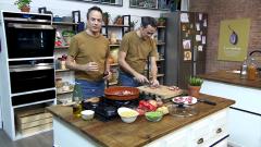Torres en la cocina - Fideos a la cazuela y buñuelos de tofe de plátano