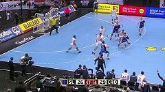 Balonmano - Campeonato del Mundo Masculino 2019: Islandia - Croacia