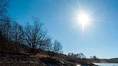 Aumento de temperaturas en Península y Baleares y viento en noreste