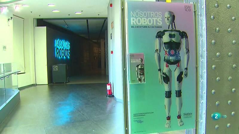 La aventura del saber Nosotros Robots Fundación Telefónica robotica #AventuraSaberCiencia