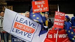 Reino Unido afronta una votación decisiva sobre el 'Brexit' con consecuencias inciertas