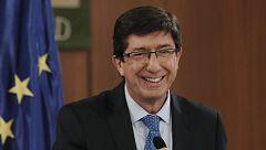 Juan Marín (Cs) no descarta apoyar algunas medidas del acuerdo entre PP y Vox en el Parlamento andaluz