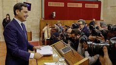 """Juanma Moreno: """"Habrá diálogo sin prejuicios, sin cordones sanitarios"""""""