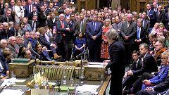 El Parlamento británico rechaza el acuerdo del 'Brexit' por mayoría