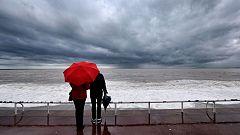 Nubes en todo el país y lluvias en el noroeste peninsular