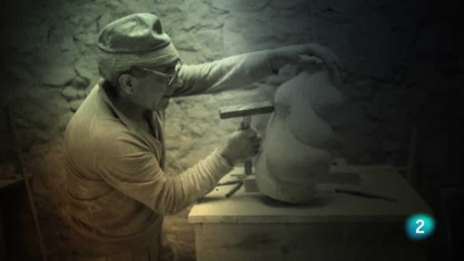 El escultor Baltasar Lobo vivió exiliado en Francia
