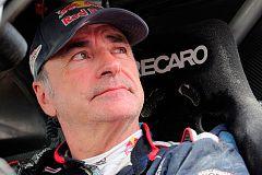 Carlos Sainz tarda más de una hora en salir por culpa de un problema mecánico