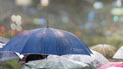 Lluvias en casi todo el país y descenso de temperaturas