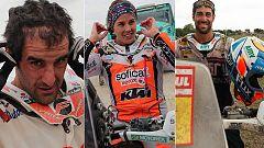 Los pilotos españoles en motos, a las puertas de Lima