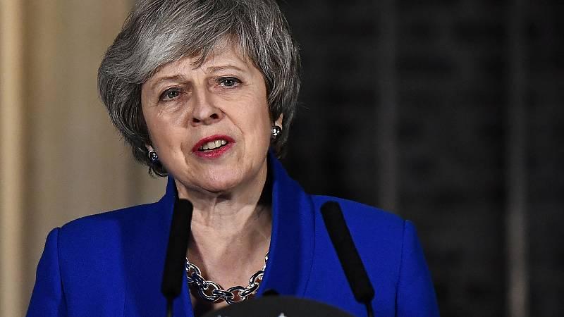 """May sobrevive a la moción de censura: """"Vamos a seguir trabajando por el 'Brexit'"""""""