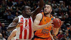 Baloncesto - Eurocup Top 16 3º partido: Valencia Basket - Partizan de Belgrado