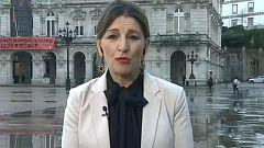 Los desayunos de TVE - Yolanda Díaz, portavoz de En Marea en el Congreso, y Toni Roldán, portavoz de Economía de Ciudadanos