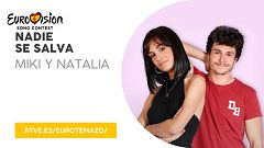 """Eurovisión 2019 - Eurotemazo: versión final de """"Nadie se salva"""", cantada por Natalia y Miki"""