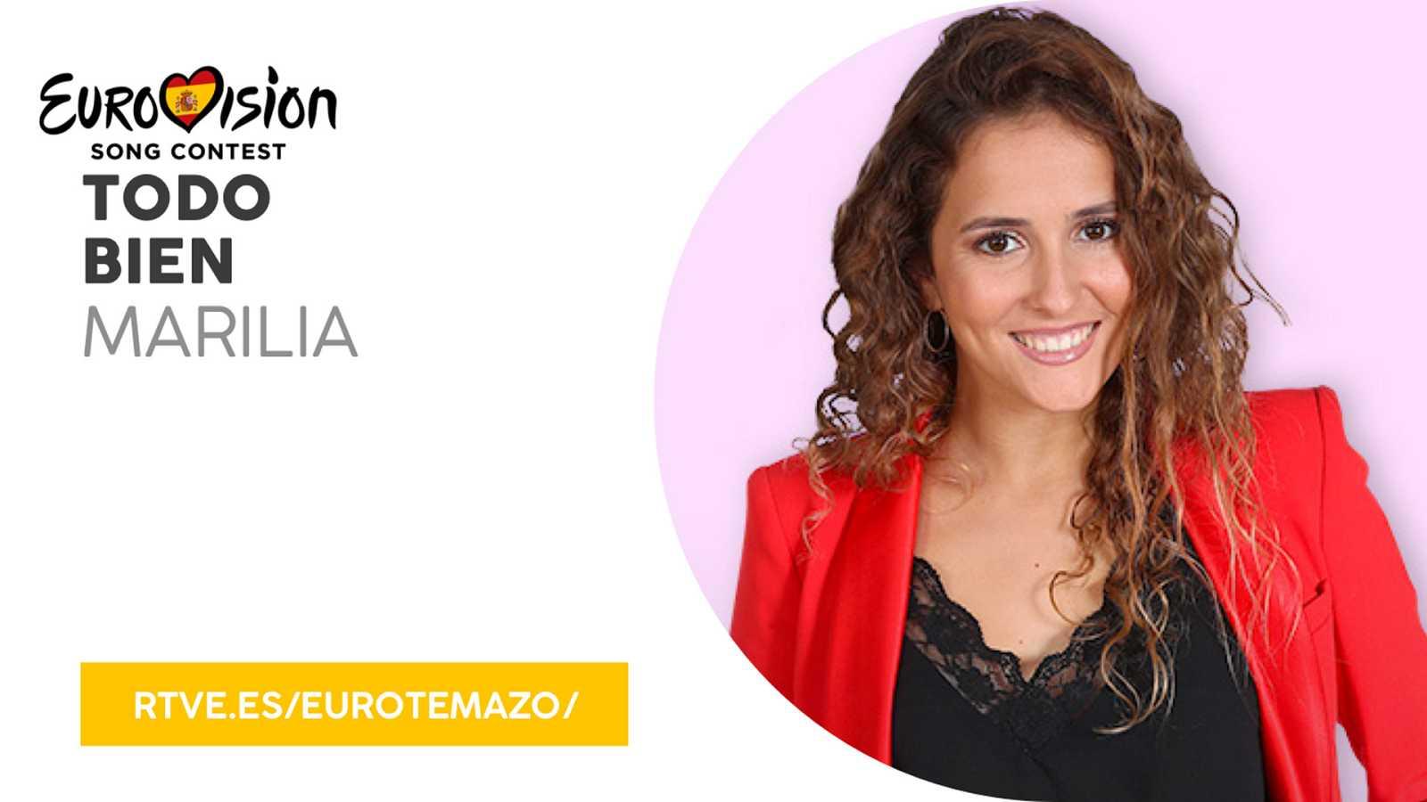 """Eurovisión 2019 - Eurotemazo: versión final de """"Todo bien"""", cantada por Marilia"""