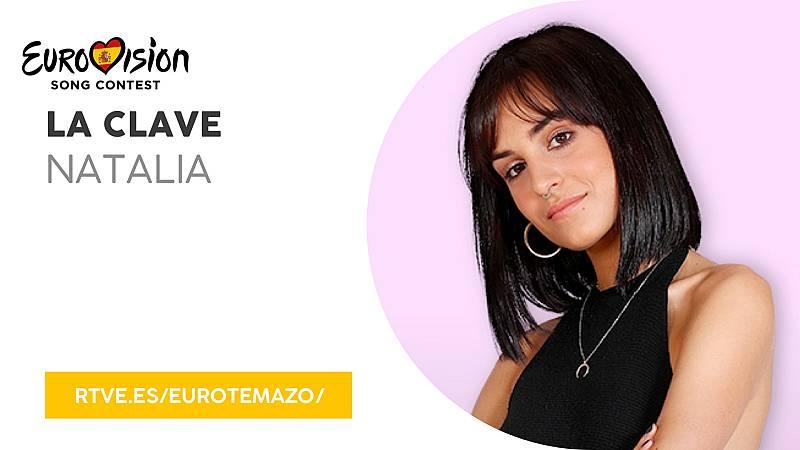 """Eurovisión 2019 - Eurotemazo: versión final de """"La clave"""", cantada por Natalia"""