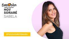 """Eurovisión 2019 - Eurotemazo: versión final de """"Hoy soñaré"""", cantada por Sabela"""